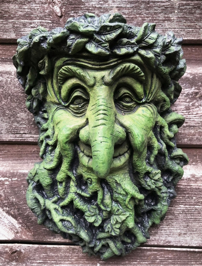 Treebeard Green Man plaque